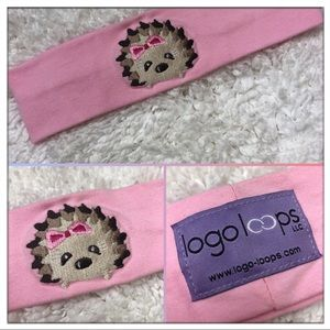 logo loops - Hedgehog 🦔 Headband, Hair Accessory